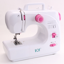 VOF New arrival FHSM-508 Multifunction mini zigzag stitching machine home sewing machine factory