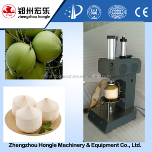500-600pcs/h automatic green tender young coconut shell skin peeling cutting machine