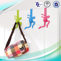 Factory Direct Promotional plastic clothes over the door hook