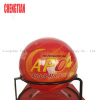 automatic fire ball extinguisher