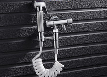 high quality brass wc bathroom bidet toilet spray faucet sets