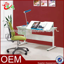 top quality height adjustable student study writing children desk