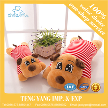 2016 Plush Dog Doll With Clothes Kawaii Sleeping Dog Toys Stuffed Soft Papa Dog Plush Toy