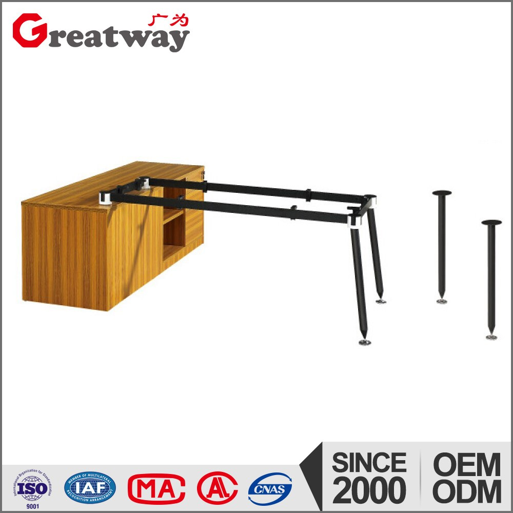 fashion steel round table legs steel frame for center table