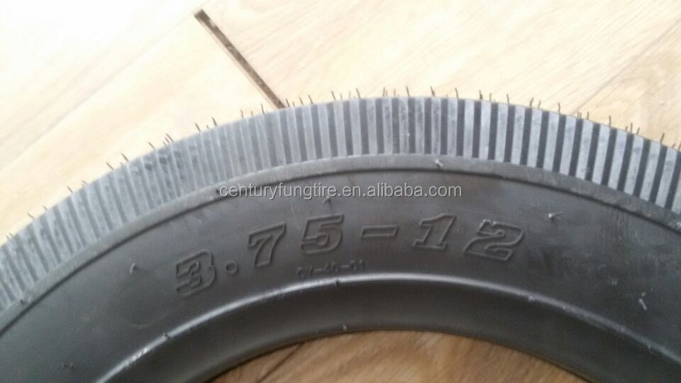 tricycle motorcycle tire 3.75-12 qingdao city china high quality and cheap price