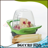 NBRSC Dice & Store Good Manual Chopper for Vegetables Kitchen Utensil