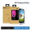 In stock!! Ultra Clear 0.33mm 2.5D 9H Waterproof mobile phone tempered glass screen protector for Samsung S4