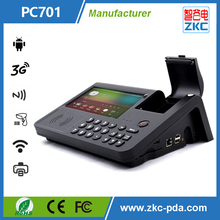 All in one POS terminal with thermal printer and card reader Android OS,pre-installed with Google Play store and Google services