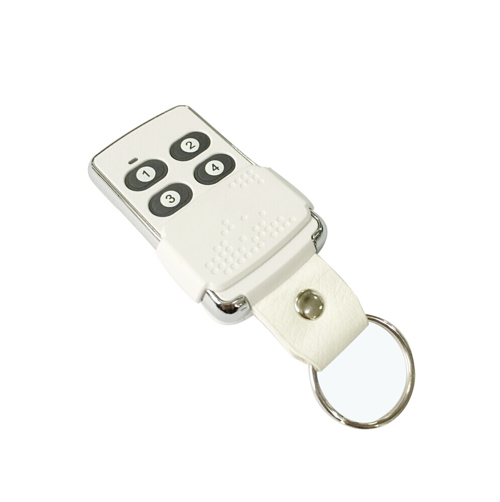 Four buttons keychain rolling code remote control for access control systems