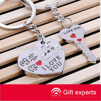 Customized promotional zinc alloy 3D Key Chain