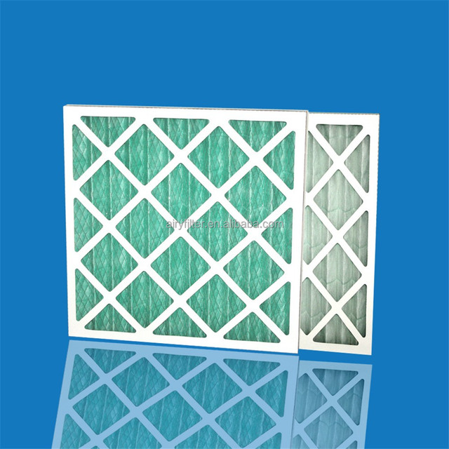 Air pre filter F5 G4, Paper Frame Air filter,Foldaway Pre filter Mesh