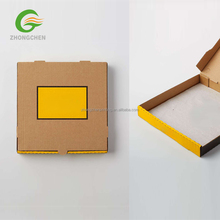 Customized Laminated Corrugated Pizza a4 paper box dimensions