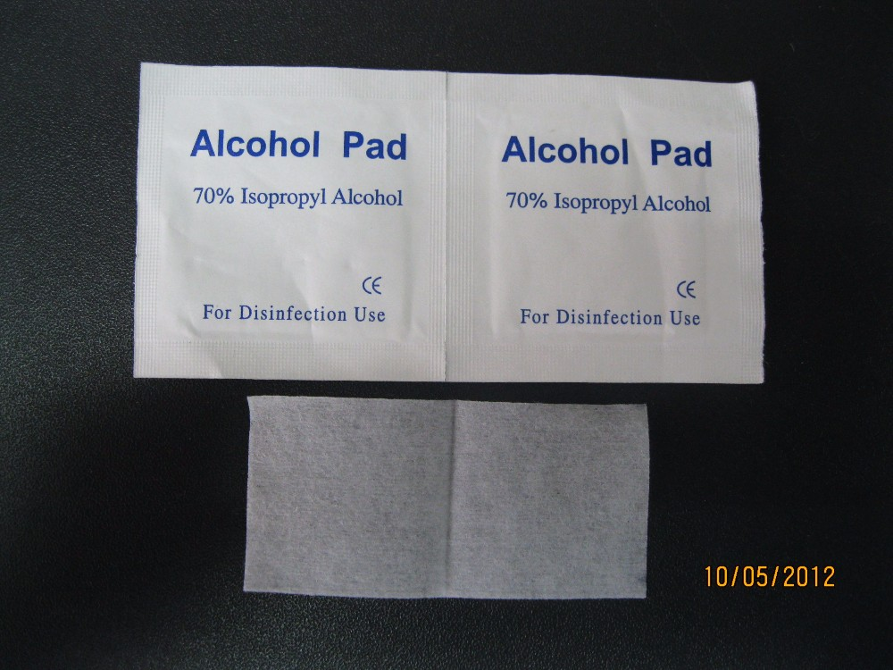 Isopropyl Alcohol Prep Pad Swab