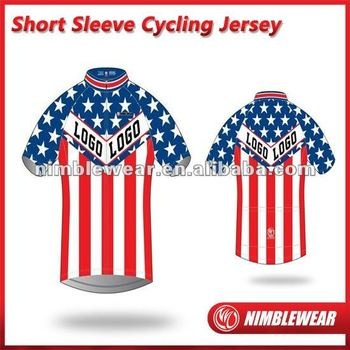 2012 Nimblewear New Arrival sportwear USA style full digital sublimation cycling kit,cycling jersey,cycling gear,cycling top
