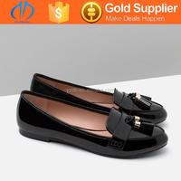multicolor breathable leather flat shoes for women