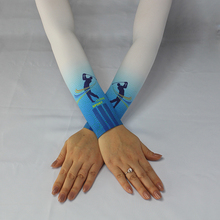 wholesale cheap colorful UV protection cooler Arm Sleeves with logo