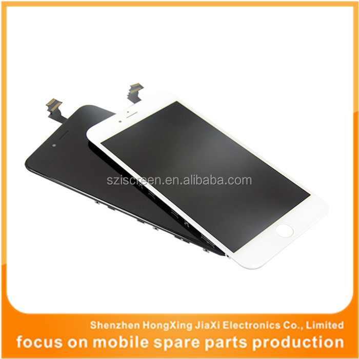 Hot selling for iphone 6 plus lcd with touch screen, spare parts for iphone 6 plus, lcd digitizer for iphone 6 plus