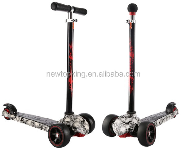 Cheap push scooters maxi kickboard 3 wheel kick scooter for 3 wheel motor scooters for adults