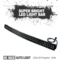 N2 CAR ACCESSORIES 90W 20 inch lighting 5d Spot flood comb beam LED light bar for SUV 4x4 truck off-road vehicle