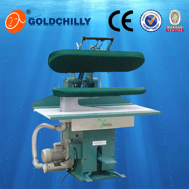 Commercial shirt collar press machine for laundry shop