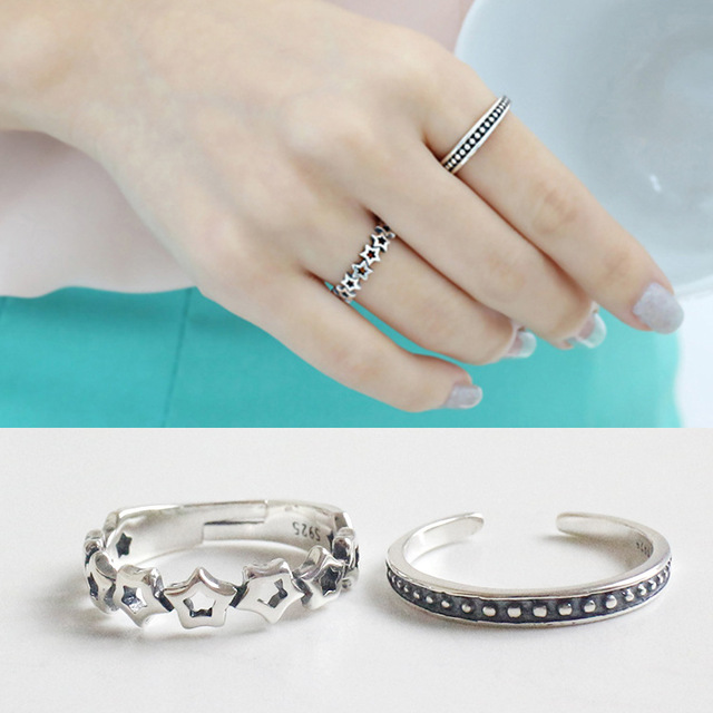 Latest wedding 925 sterling silver ring factory direct selling jewelry silver 925 ring