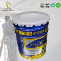 Advanced 5 in 1 water based acrylic interior wall paint colours