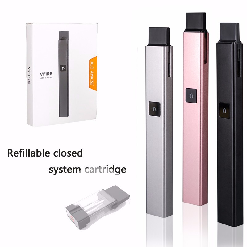 Refillable Closed System Cartridge Heath Electronic Cigarette Second Hand Smoke