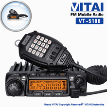 Hot Sale! Cheap VT-5188 Single Band VHF/UHF 60W/45W 200 Channels Mobile FM Transceiver