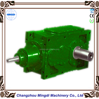 GMC Bevel Helical Cylindrical Gear box Transmission Part, Reduction Gearbox for conveyor
