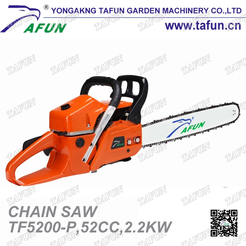 China supplied 5200 gasoline chainsaw with high quality