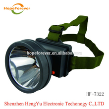 Long working time saftey helmet lamp led mining cordless cap lamp miner safety lamp
