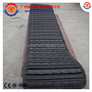 bobcat T750 rubber track 450*86*55, mini excavator CASE 450CT rubber crawler track