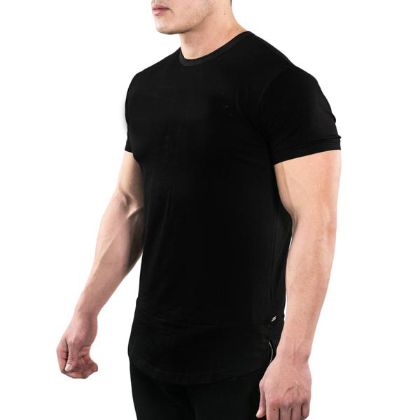 2017 NEW style polyester dry fit fabric Sportswear Custom Short Sleeve Muscle Sport Gym T shirt