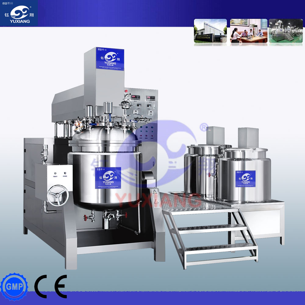 Emulsifer mixer cosmetic emulsifier machine/stainless steel in line high shear mixer