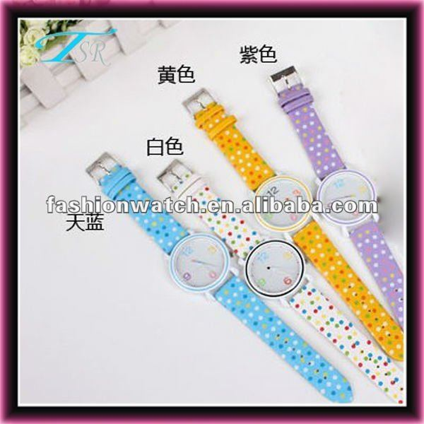 2013 Chinese new fashion Christmas gift clock for rainbow color kid watch