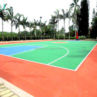 Granulate Rubber For Synthetic Basketball Court Flooring FN-E-16032805