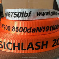 Newest promotional nylon woven bag strap
