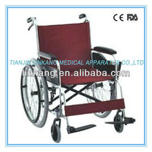 Folding wheelchair with fixed armrest