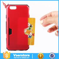 Fashion unbreakable 3D sublimation phone case for iphone5