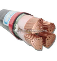 35mm 180mm 240mm 4 core 600/1000V PVC/XLPE insulated low voltage power cable