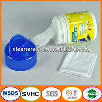 Glasses cleaning tissue paper roll, japanese wet tissue