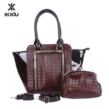 women's black bag and purse 6 pieces ladies bags set handbag online