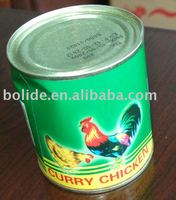 397g curry chicken meat product
