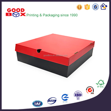 China supplier offering custom design fancy corrugated paper packaging boxes for t-shirt / scarf / sportswear / clothes