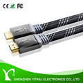 LONG FLAT HDMI Cables High Speed With Ethernet v1.4 FULL HD 4K 3D ARC GOLD
