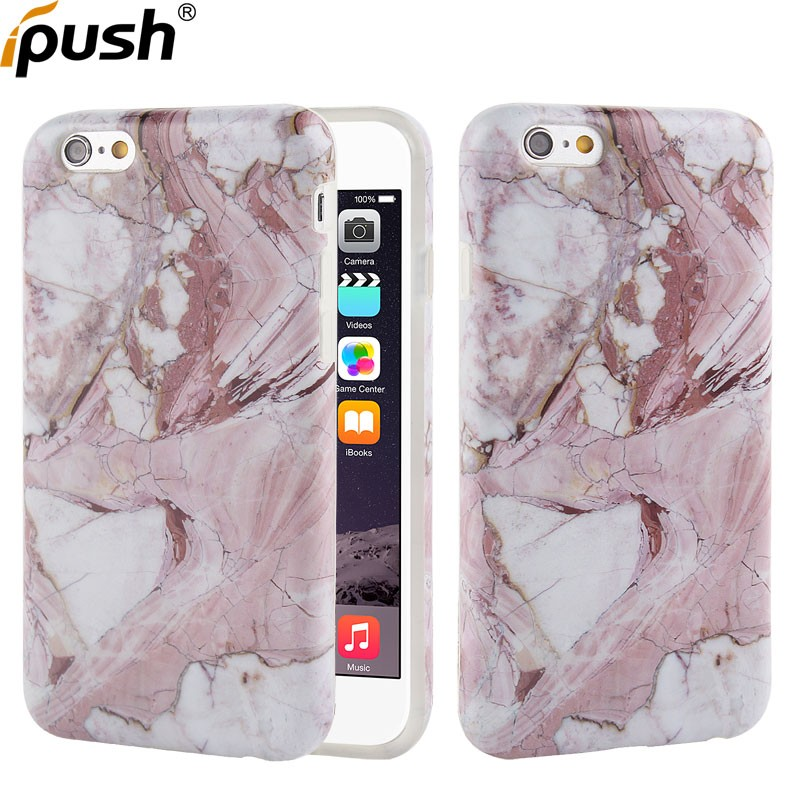 Hot sales nature IMD Marble Design TPU Phone Accessories Case,For Apple iPhone 6 6s Various Painting Cover