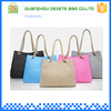 Wholesale jute simple polyester cheap beach bags