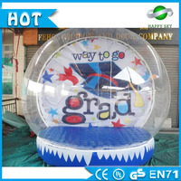 Promotional price!!!Inflatable snow-globes,snow globes for decoration,indoor inflatable snow globes