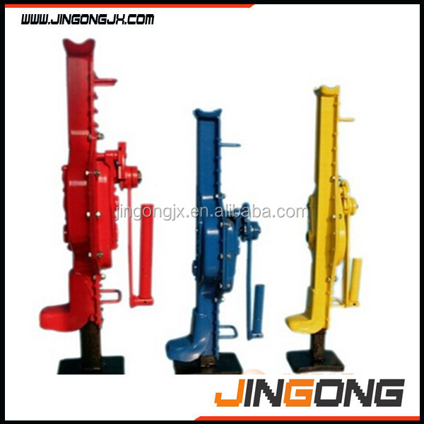 high quality with best price SJ-1.5 Low Level Type Mechanical Jack/mechanical track jacks