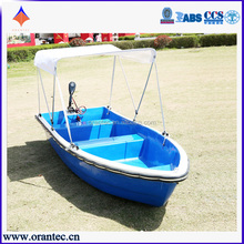 Made in China Cheap 3.8m Lightweight Boat Small Fiberglass Fishing Boat for Sale
